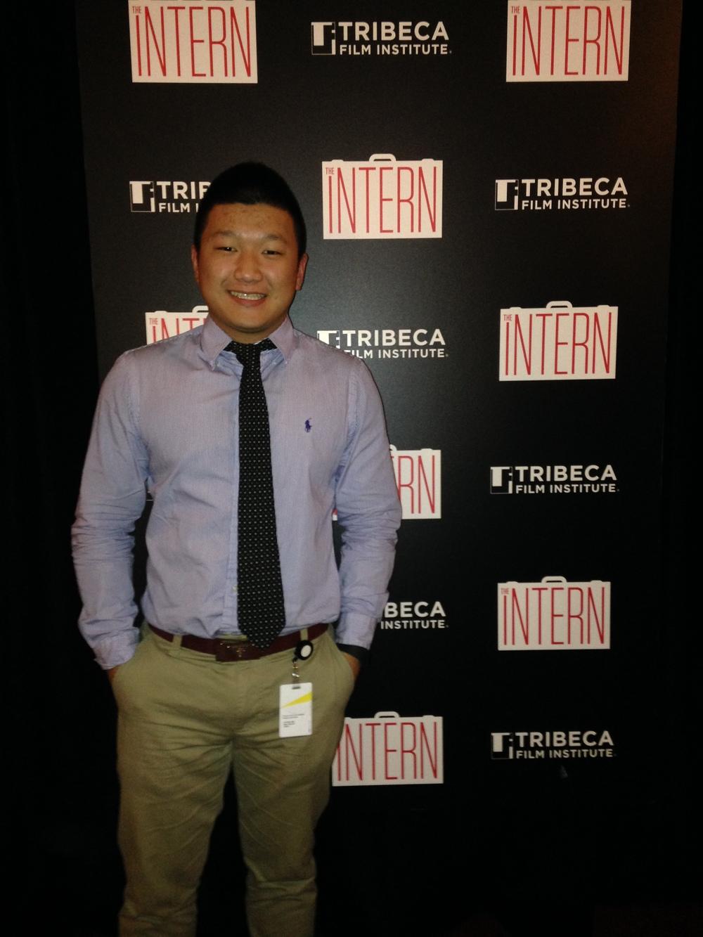 The Intern World Premiere