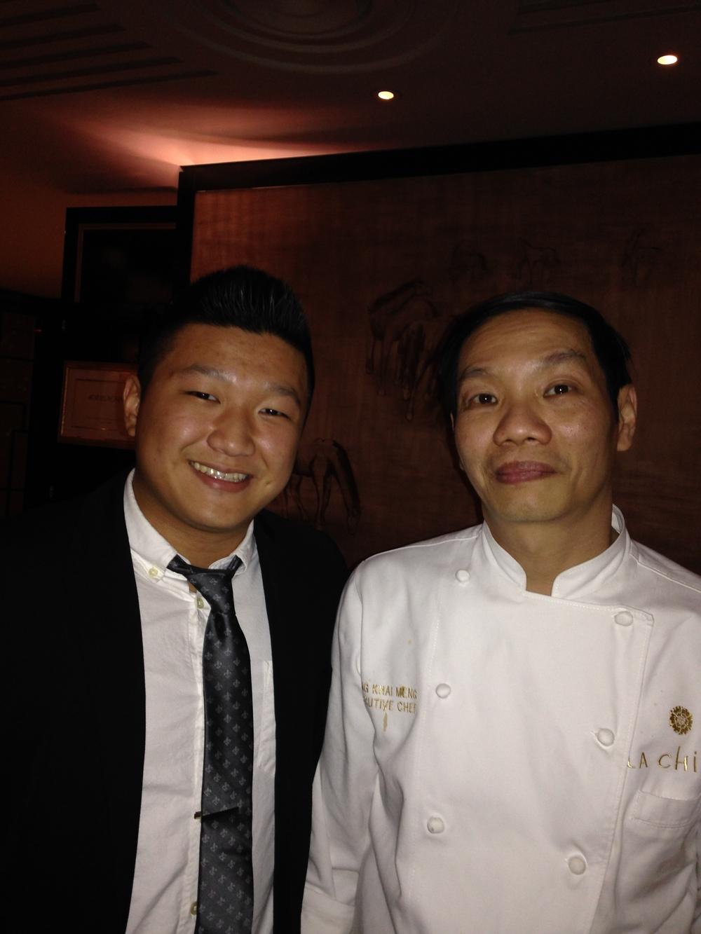 Executive Chef Kong Khai Meng