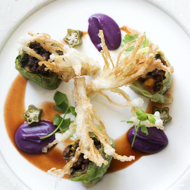 Jing Roll - Winning Dish