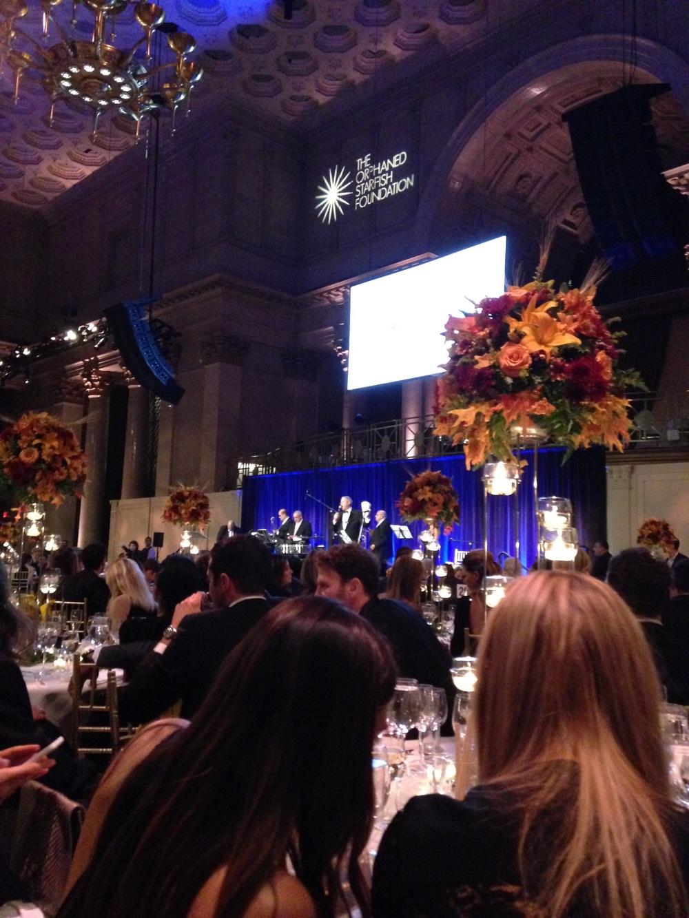 Inside the gala