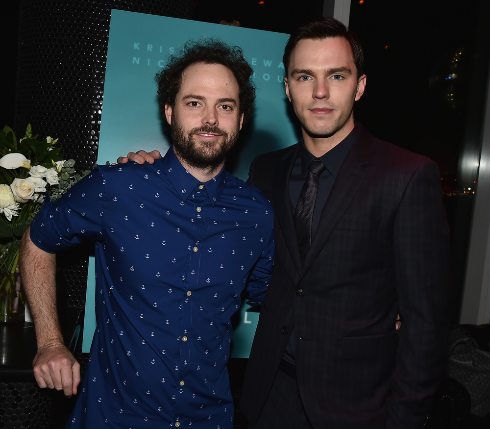 Drake Doremus and Nicholas Hoult                                                                                                                                                     Photo: Theo Wargo