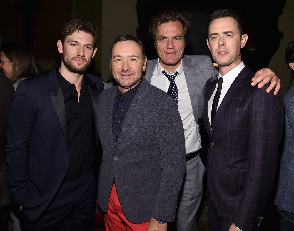 Alex Pettyfer, Kevin Spacey, Michael Shannon, and Colin Hanks                                                                                             Photo: Jamie McCarthy