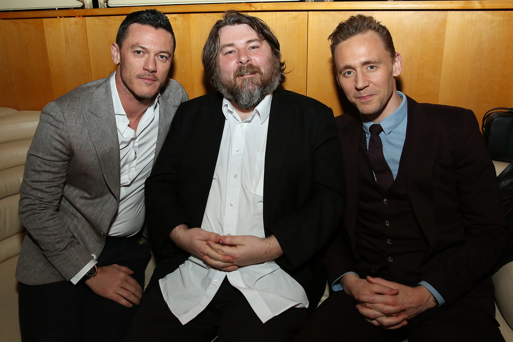Luke Evans, Ben Wheatley, Tom Hiddleston                                                                                                                              Photo: Monica Schipper
