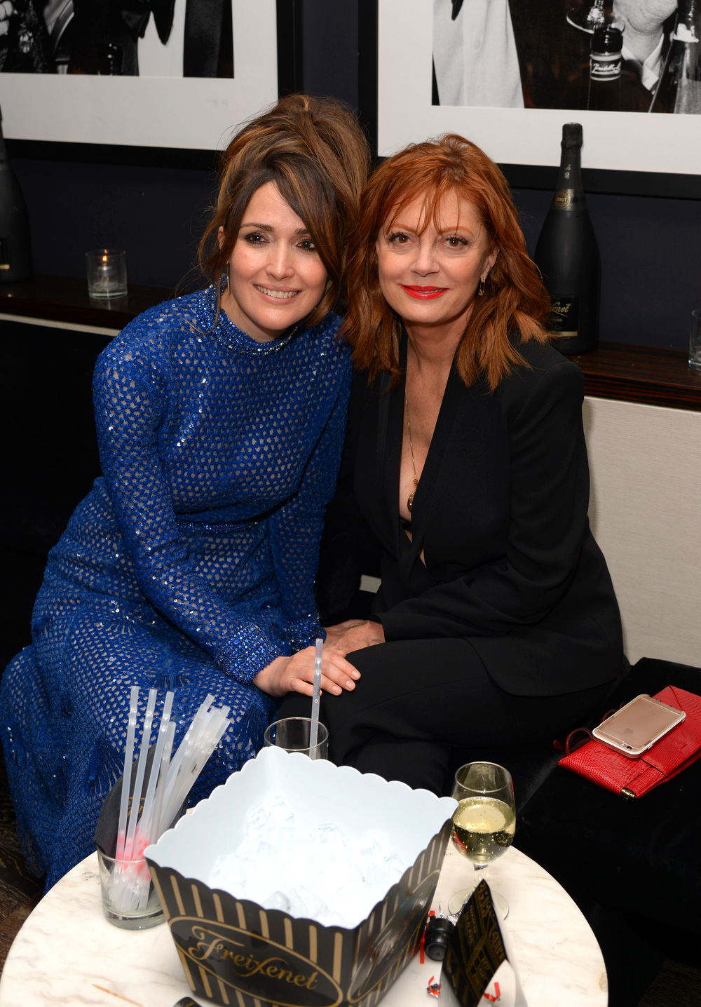 Rose Byrne and Susan Sarandon                                                                                                                                                    Photo: Andrew Toth