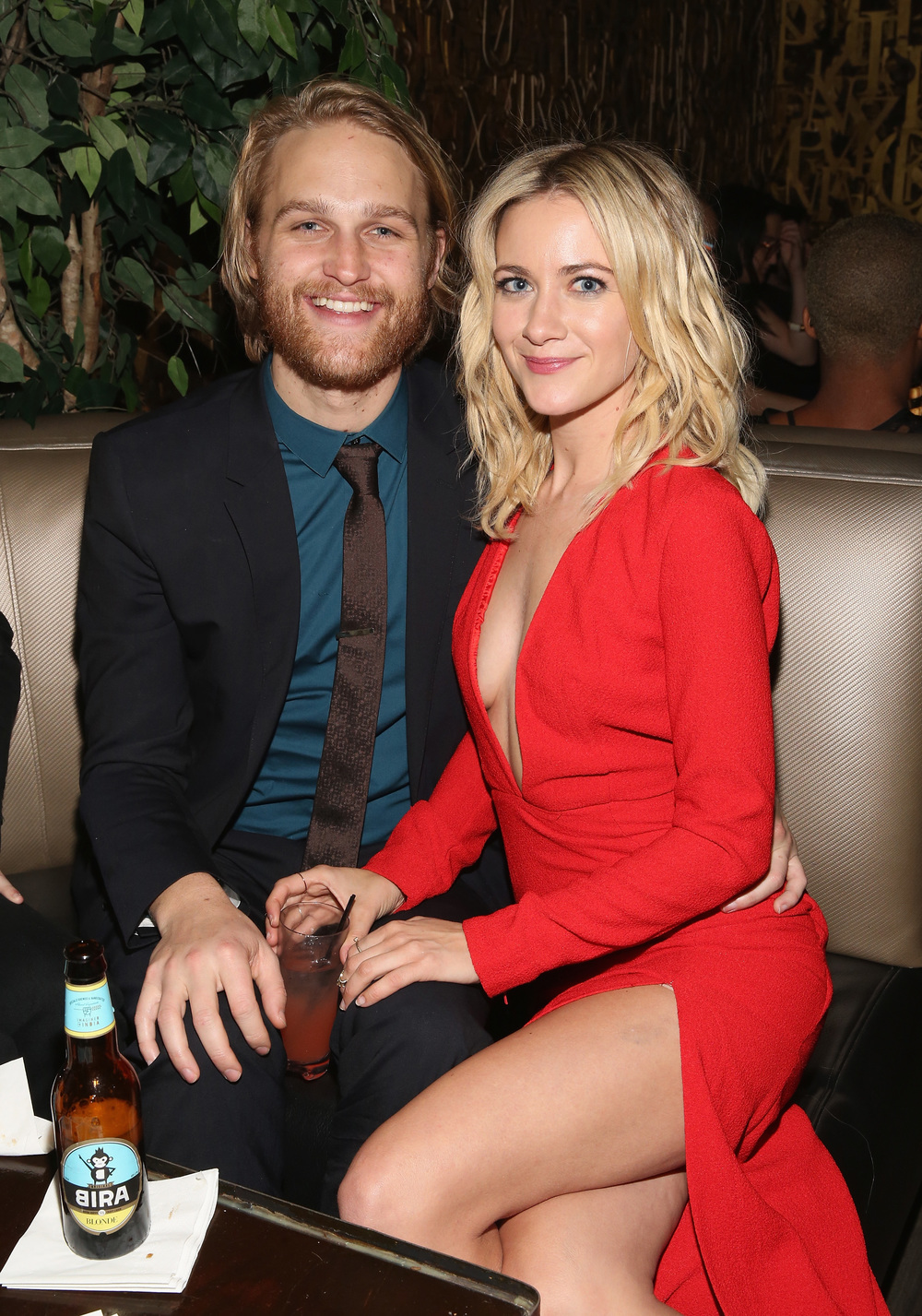 Wyatt Russel and Meredith Hagner                                                                                                                                               Photo: Robin Marchant