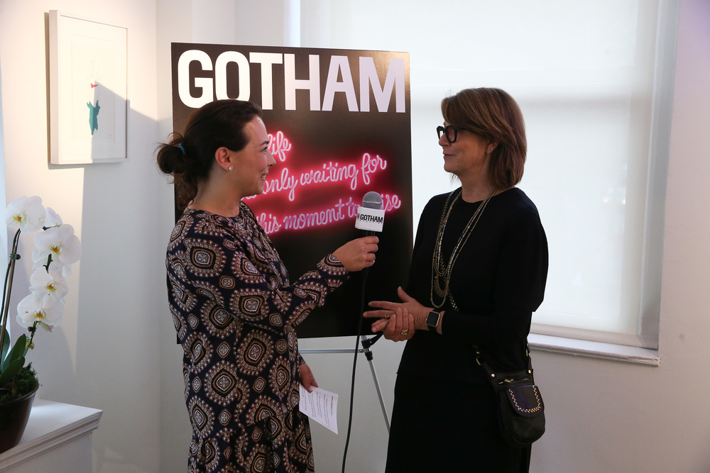Gotham Magazine Celebrates Art of the City with Lisa Schulte                                                                                                            Photo by Rob Kim