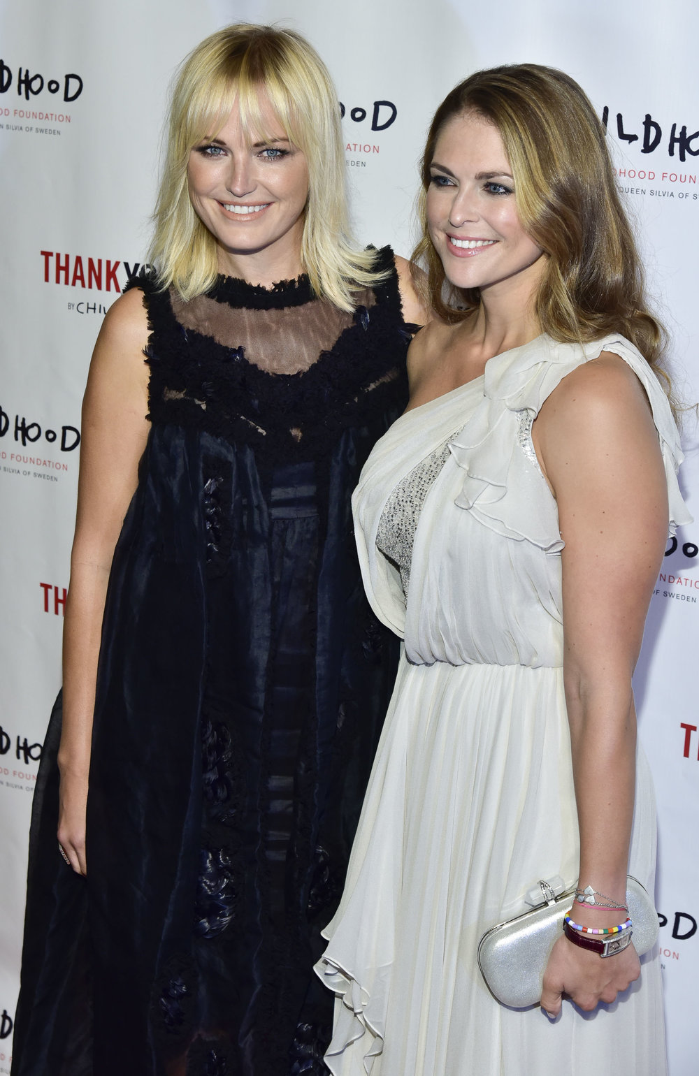 Malin Akerman and HRH Princess Madeleine                                                                                     Photo by Eugene Gologursky/Getty Images