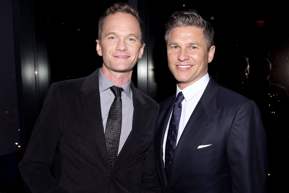 Niel Patrick Harris and David Burtka
