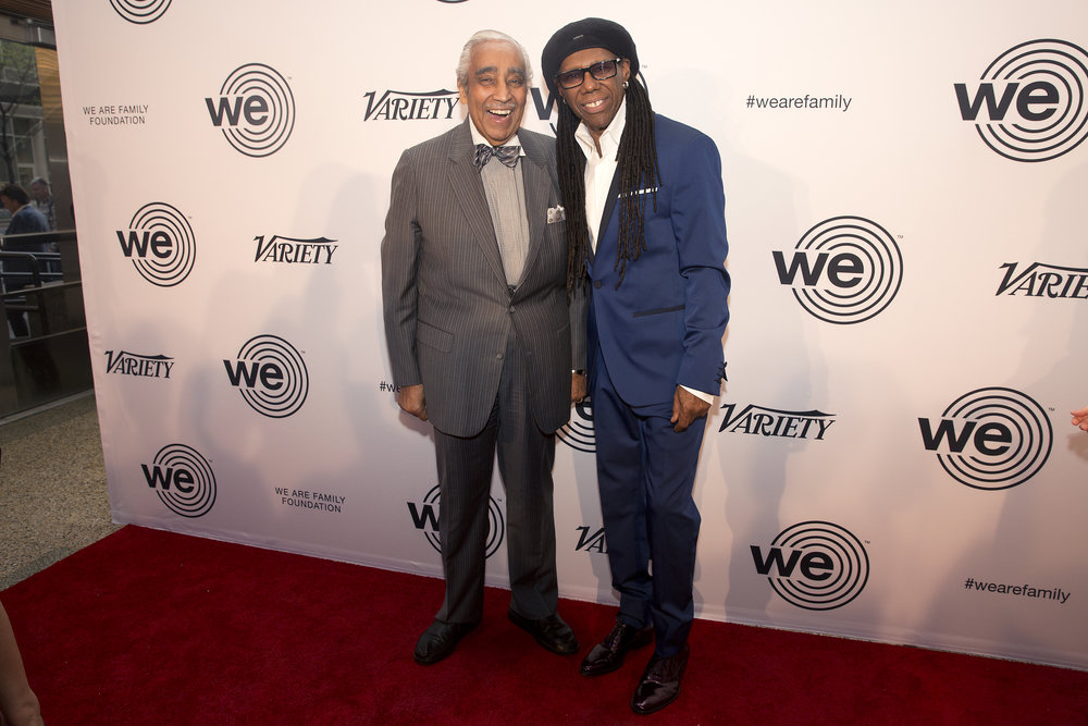 Charles Rangel and Nile Rodgers