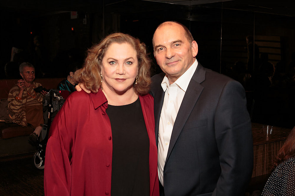 Artistic Director Pascal Rioult and Kathleen Turner