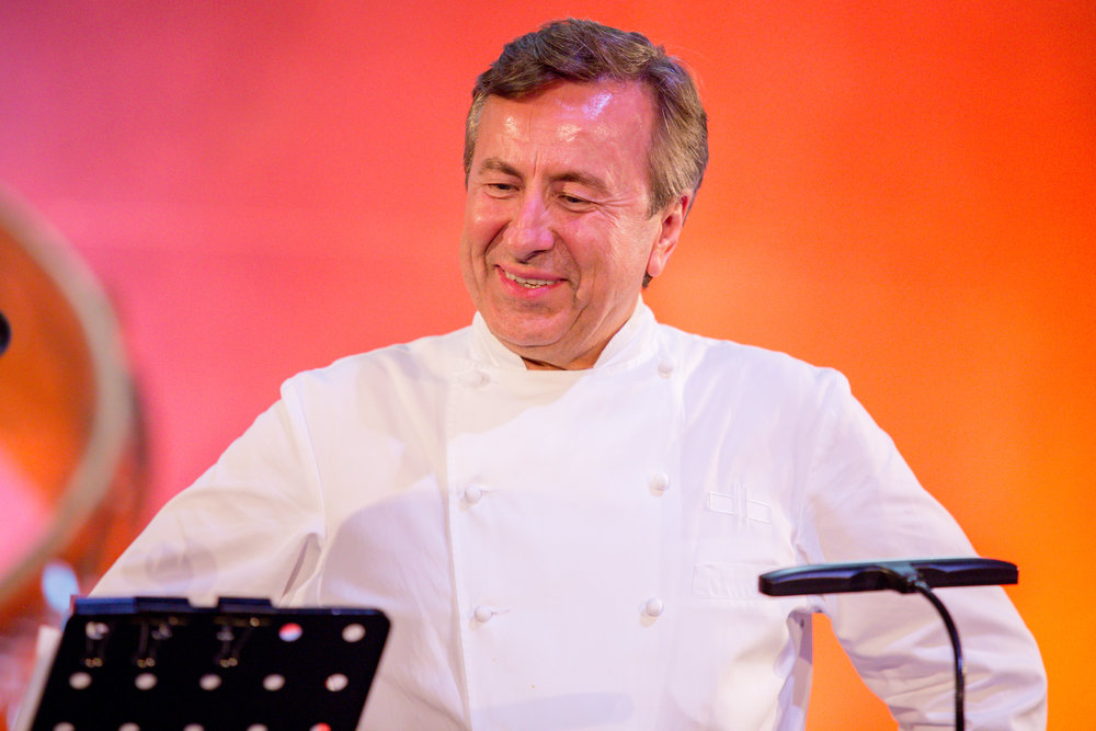 Chef Daniel Boulud, who have been doing Chef's Tribute for over 25 years