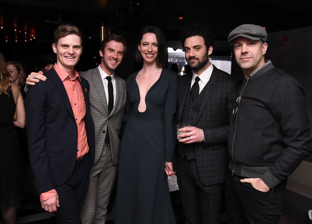 David Joseph Craig, Dan Stevens, Rebecca Hall, Morgan Spector and Jason Sudeikis  2017 Tribeca Film Festival After Party for   Permission ,  sponsored by   Heineken   at  Up and Down  – 4/22/17 (Ilya Savenok, Getty Images)