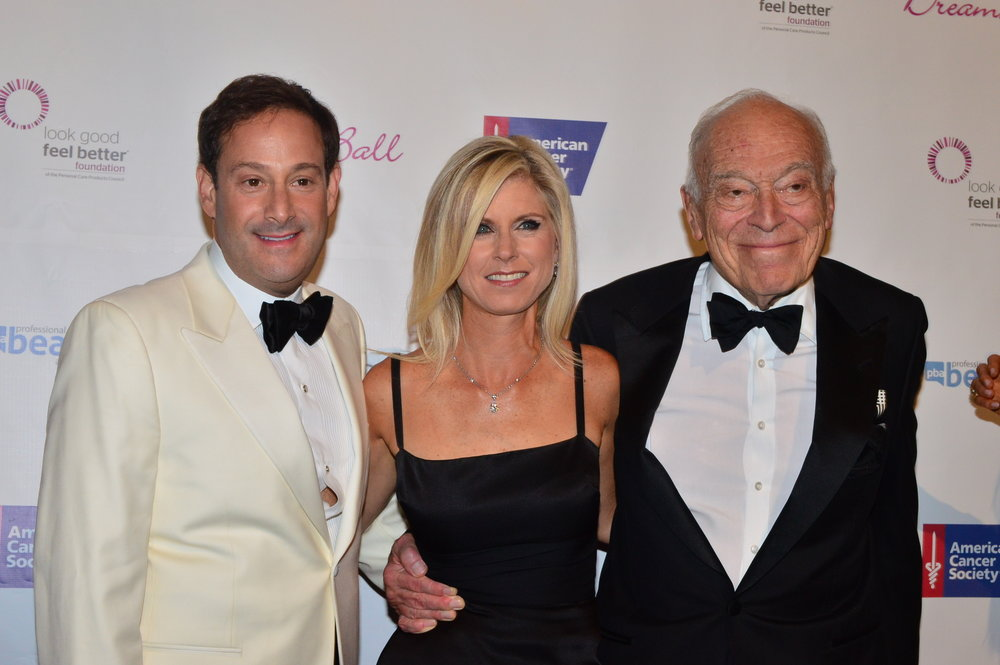 Barry and Marla Beck, along with Leonard Lauder