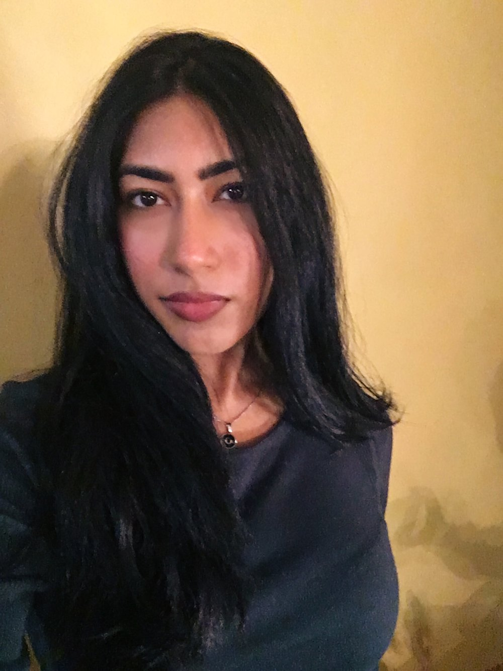 Divina Ramgopal    Managing Editor   Divina is a writer studying English, Creative Writing, and Communications at Fordham University. Her writings can be found in  Bricolage Journal ,  CURA Magazine , and scribbled on post-its, torn scraps of paper, and the back of her biology notes.