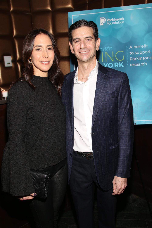 Kim Wolfberg and Adam Wolfberg