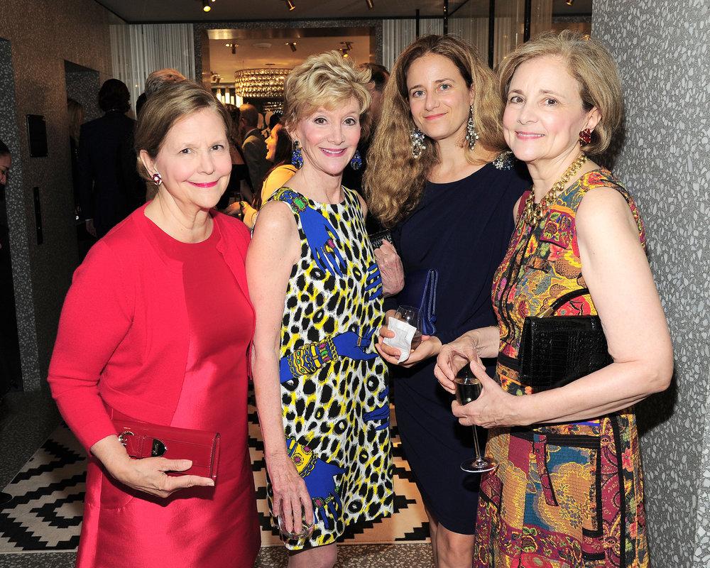 Mercedes Levin, Jackie Weld Drake, Alicia Lubowski-Jahn, Martha Bograd.jpg