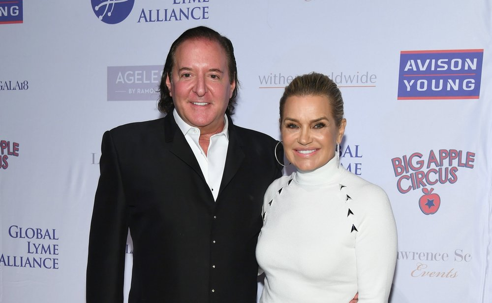 Event Producer Larry Scott of Lawrence Scott Events, Yolanda Hadid (Photo Credit Dave Kotinksy for Getty Images).jpg