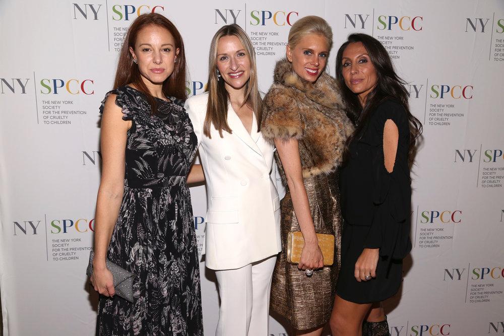 Fashion Designer Laura Garcia, Moncler VP Lara Meiland-Shaw, Philanthropist Krista Corl, NYSPCC Children's Council Member Vicky Cornell.jpg