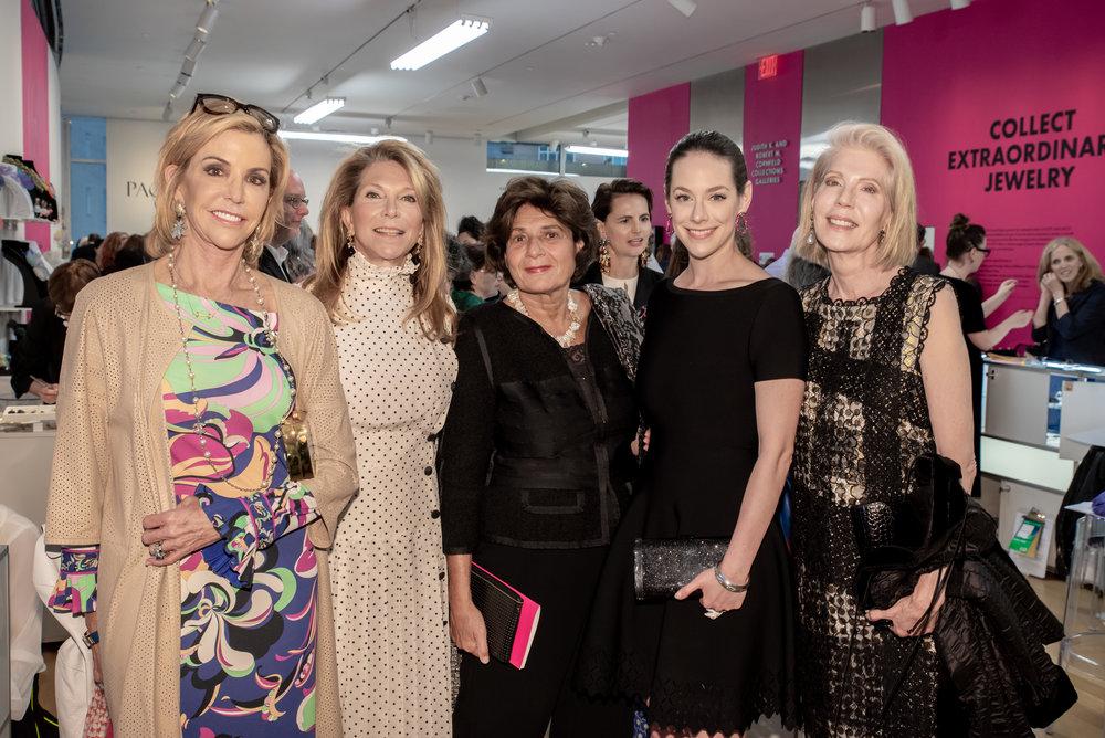 Laura Tanne, Jane Preiser, Michele Ateyeh, Alissandra Aronow, Adria de Haume.jpg