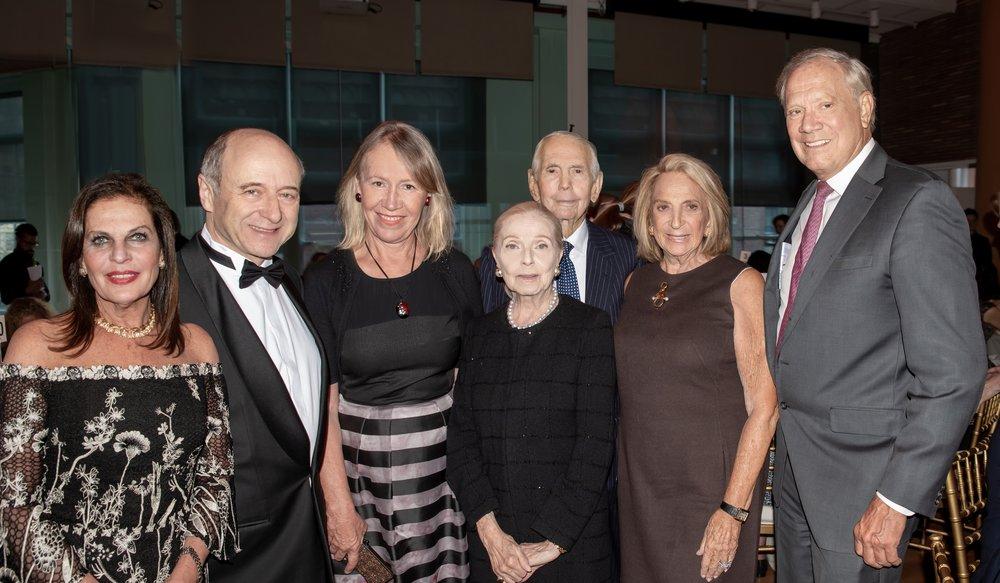 Sylvia Hemingway, Ivan Fischer, Libby Pataki, Vera Blinken, Ambassador Donald Blinken, Daisy Soros, Governor George Pataki