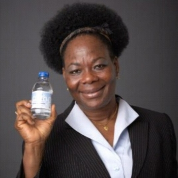 ATINUKE AKINWUNMI: PurH2O   Founded by Antinuke Akinwunmi in 2011, PurH2O is dedicated to ensuring access to safe and clean water for the local community. PurH2O comes from a natural source in the Northern Pocono Mountains where it is also bottled and purified. Making water accessible has also been this company's goal as it provides delivery services to workplaces, homes and schools.