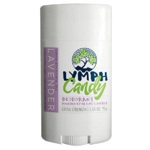 LAVENDER DEODORANT: $10.00    Designed to absorb wetness and neutralize odor effectively, Lymph Candy is a clean, 6-ingredient deodorant that works