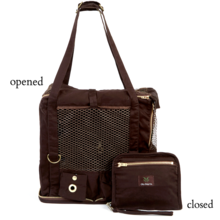 MEDIUM CITY GYPSY WRISTLET PET CARRIER - $195       For Dogs up 20 pounds