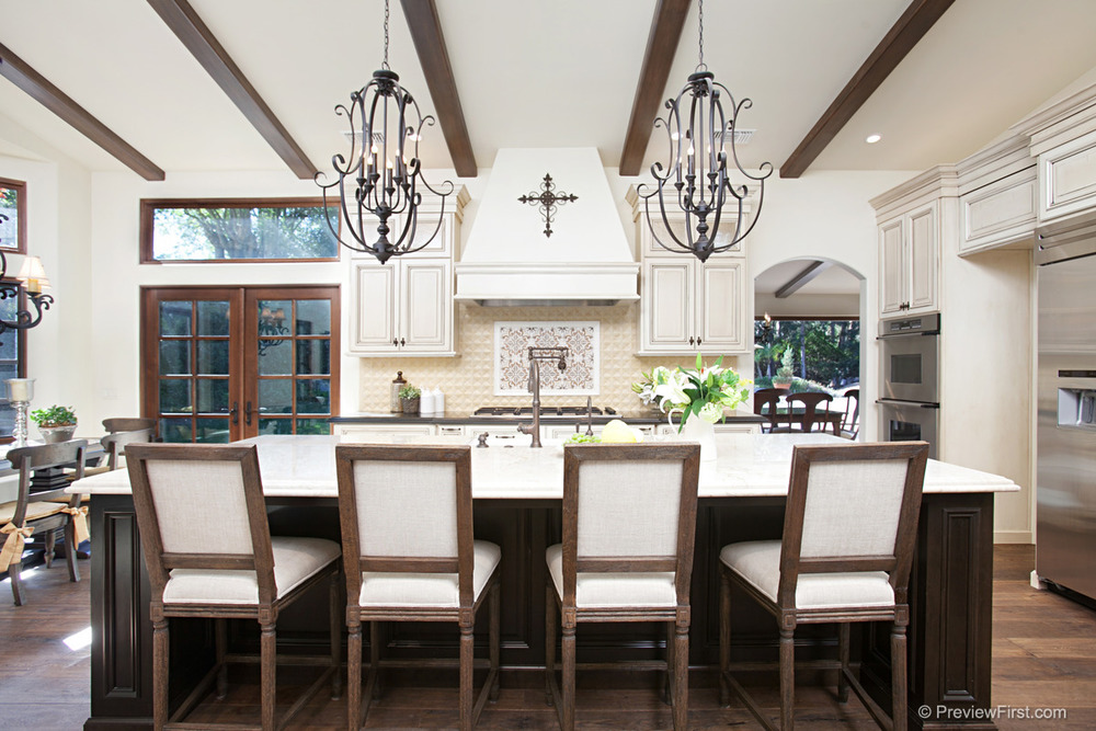 Award Winning Santa Barbara Style Kitchen Fdk Design