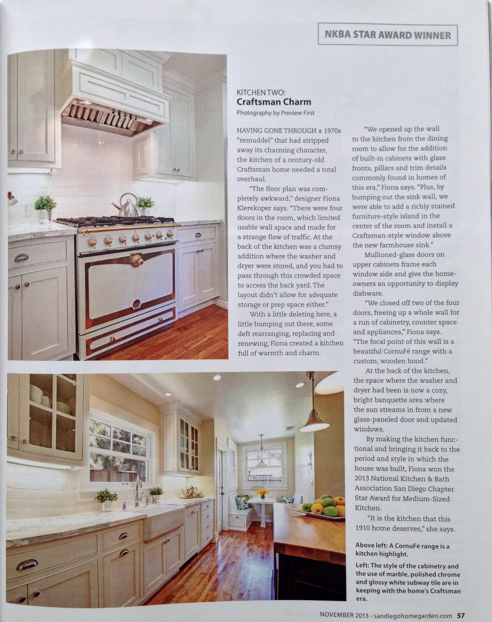 This Kitchen Was Featured In The November 2013 Issue Of San Diego  Home/Garden Lifestyles As Winner Of The National Kitchen And Bathroom  Association ... Part 95