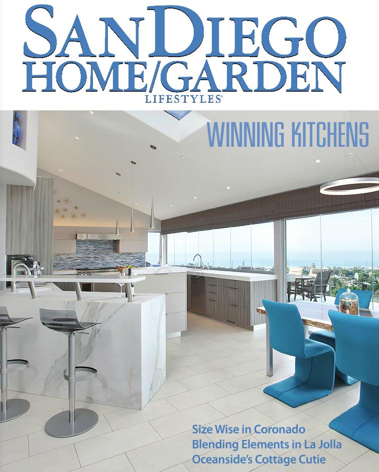 Winning Kitchens   San Diego Home/Garden Lifestyle Magazine