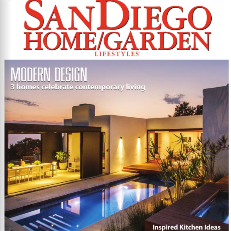 Published in  San Diego Home/Garden  - November 2017