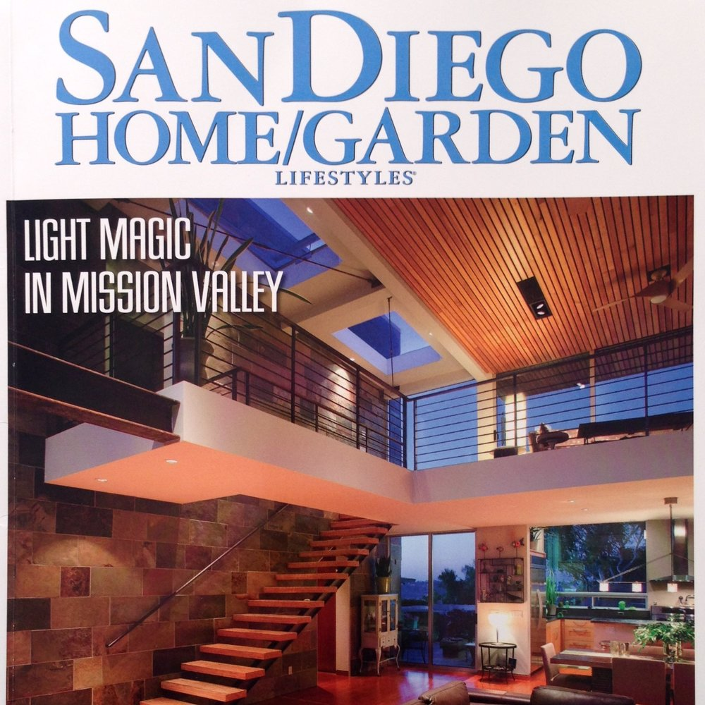 Published in  San Diego Home/Garden  - November 2013