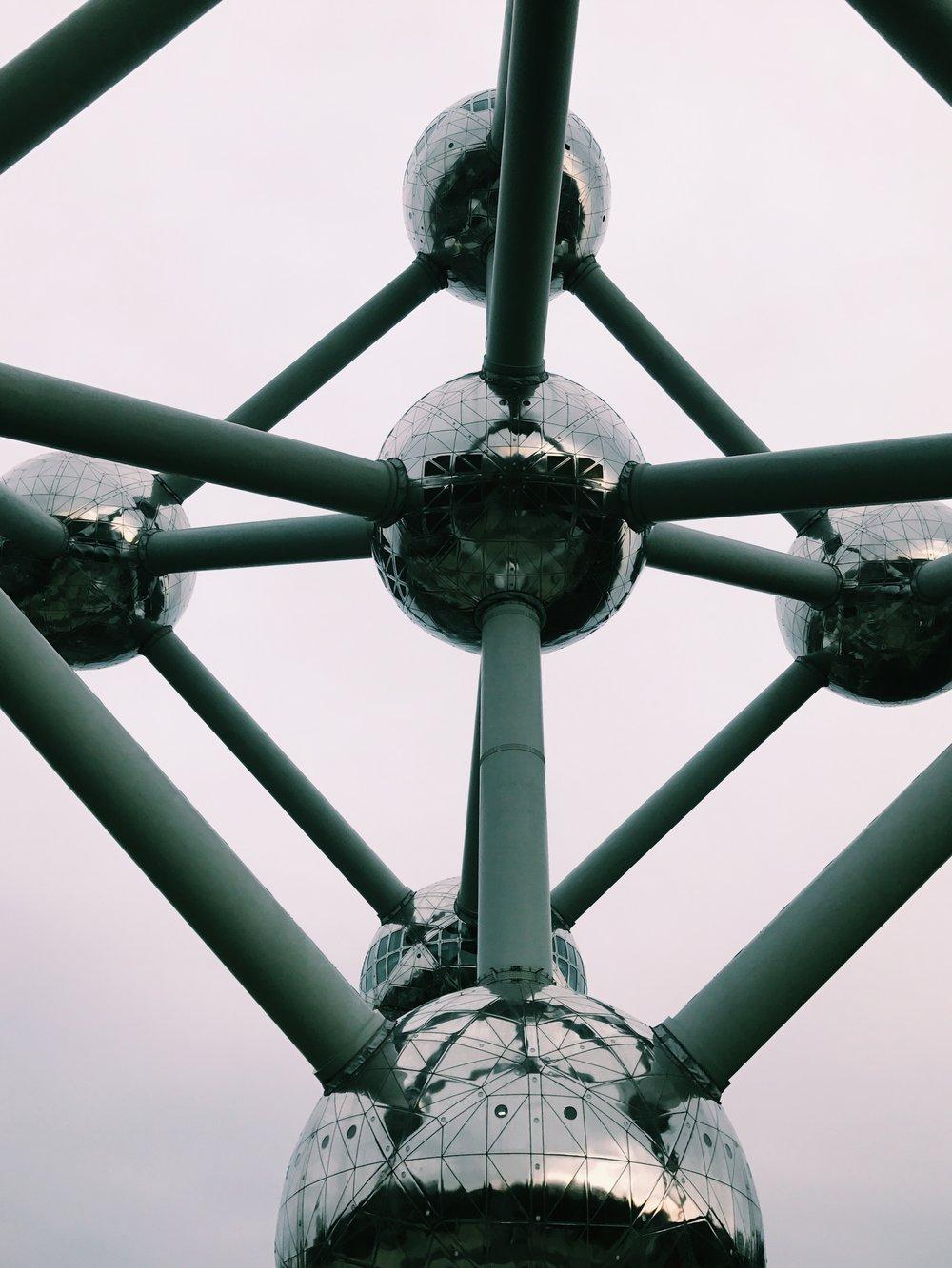 Atonium. Brussels, Belgium.