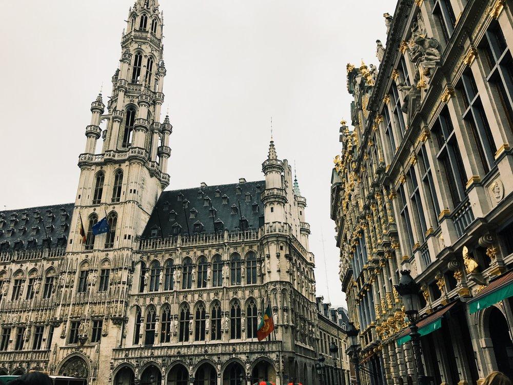Grote Markt. Brussels, Belgium.