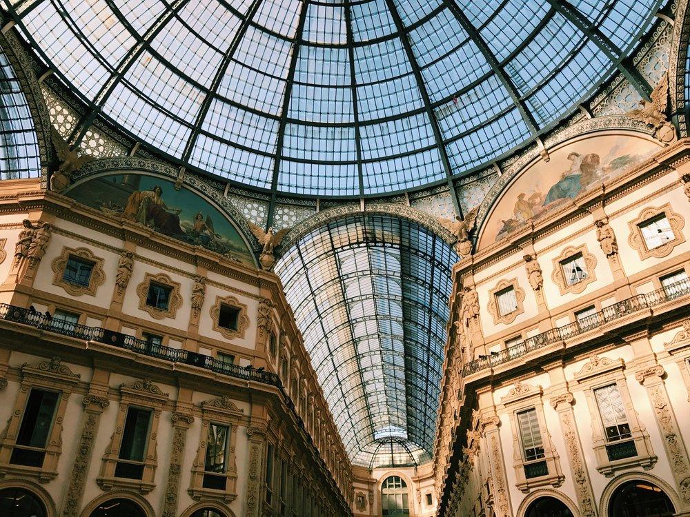Galleria Vittorio Emanuele.