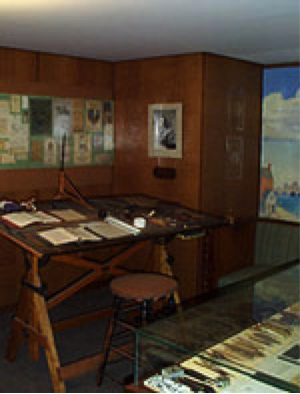 Rare Book Room of the BPL