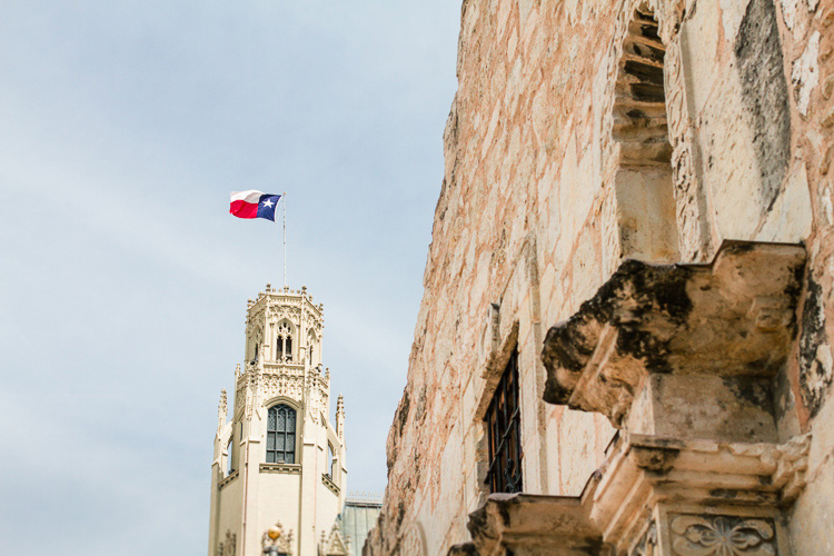 San Antonio The Alamo & Riverwallk | L. Martin Wedding Photography_15