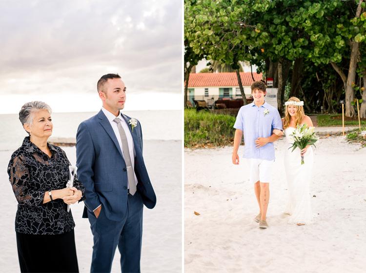 Siesta Key Beach Bohemian Wedding, Florida Destination Beach Wedding Photography   Laura & Adam   lmartinwedding.com_12