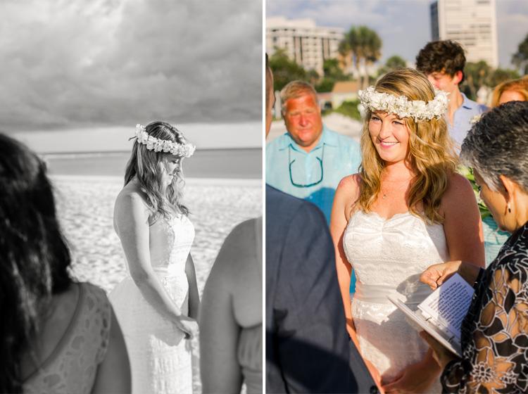 Siesta Key Beach Bohemian Wedding, Florida Destination Beach Wedding Photography   Laura & Adam   lmartinwedding.com_13