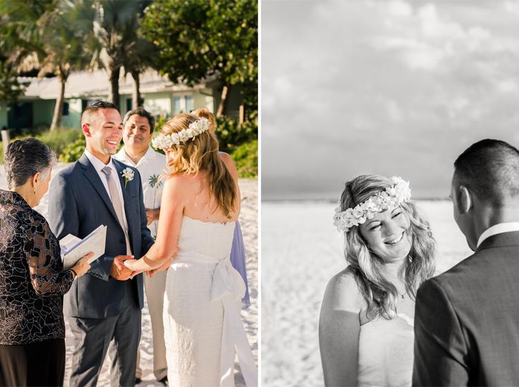 Siesta Key Beach Bohemian Wedding, Florida Destination Beach Wedding Photography | Laura & Adam | lmartinwedding.com_15