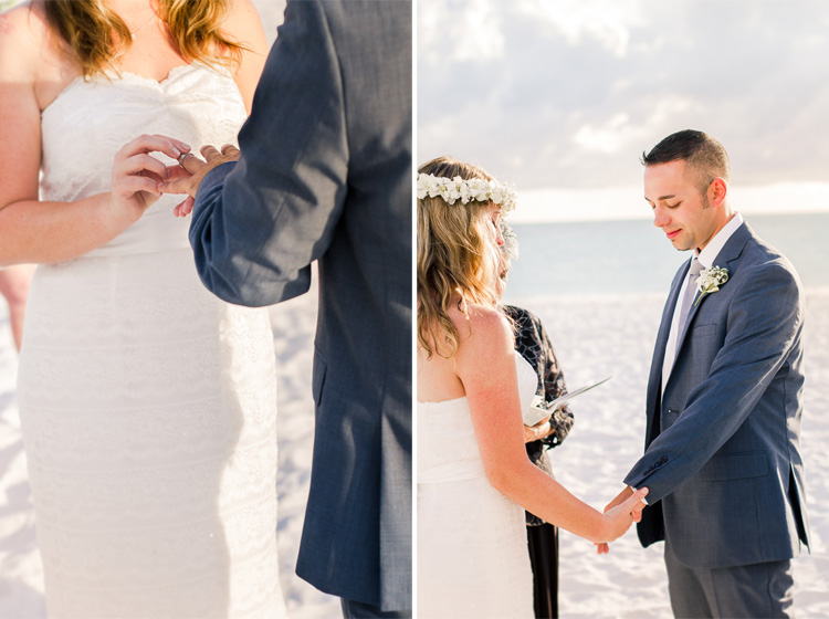 Siesta Key Beach Bohemian Wedding, Florida Destination Beach Wedding Photography   Laura & Adam   lmartinwedding.com_17