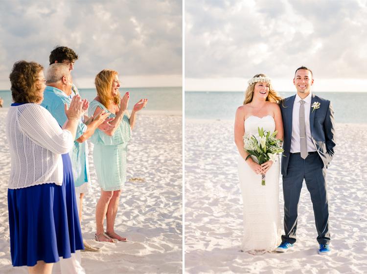Siesta Key Beach Bohemian Wedding, Florida Destination Beach Wedding Photography   Laura & Adam   lmartinwedding.com_18