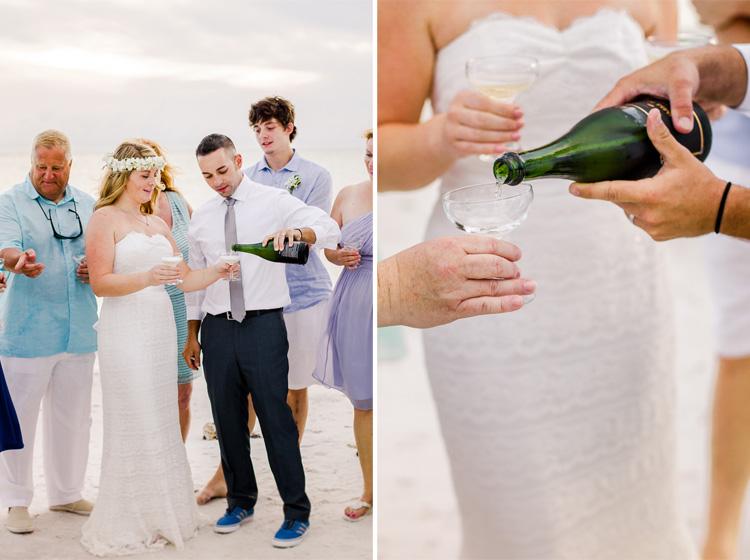 Siesta Key Beach Bohemian Wedding, Florida Destination Beach Wedding Photography   Laura & Adam   lmartinwedding.com_30