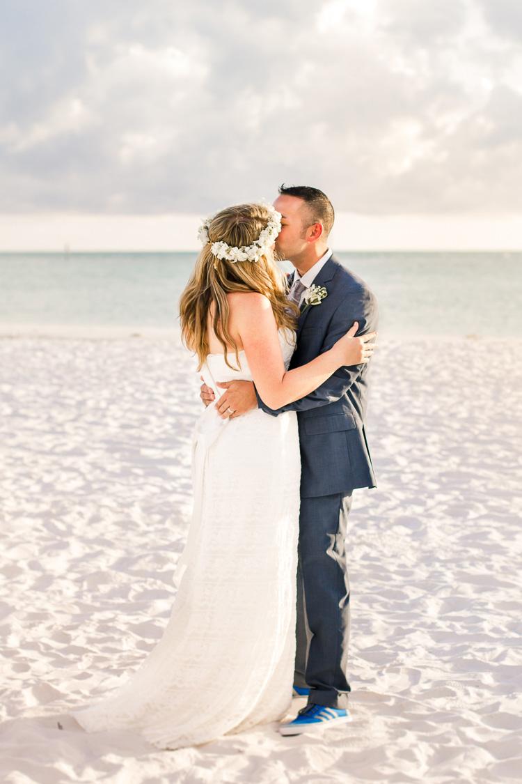 Siesta Key Beach Bohemian Wedding, Florida Destination Beach Wedding Photography   Laura & Adam   lmartinwedding.com_46