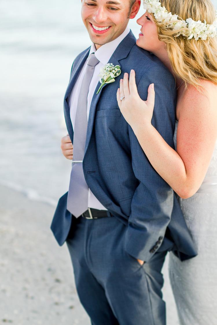 Siesta Key Beach Bohemian Wedding, Florida Destination Beach Wedding Photography   Laura & Adam   lmartinwedding.com_55