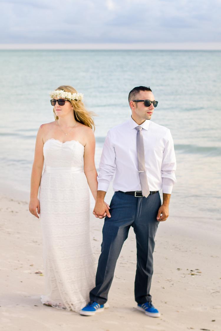 Siesta Key Beach Bohemian Wedding, Florida Destination Beach Wedding Photography   Laura & Adam   lmartinwedding.com_59