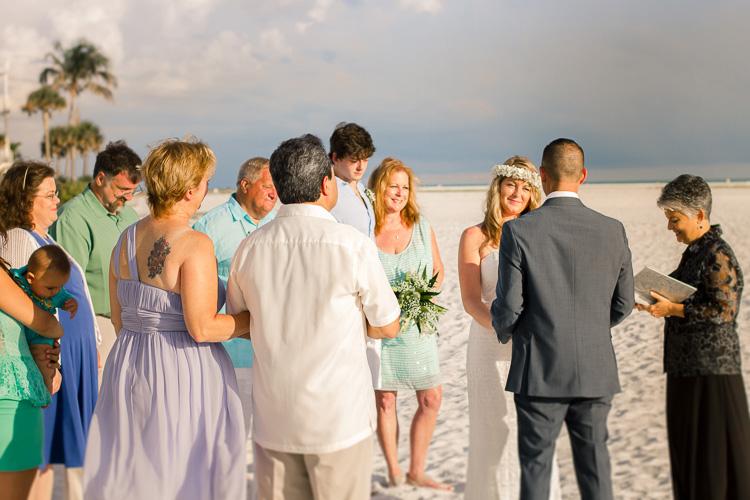 Siesta Key Beach Bohemian Wedding, Florida Destination Beach Wedding Photography   Laura & Adam   lmartinwedding.com_72