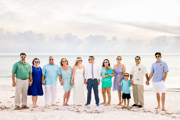 Siesta Key Beach Bohemian Wedding, Florida Destination Beach Wedding Photography | Laura & Adam | lmartinwedding.com_83