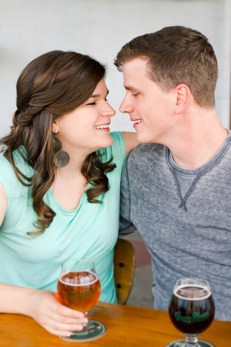 St. Pete_Green Bench Brewing Co_Engagement_Photo_Nina & Brian_14