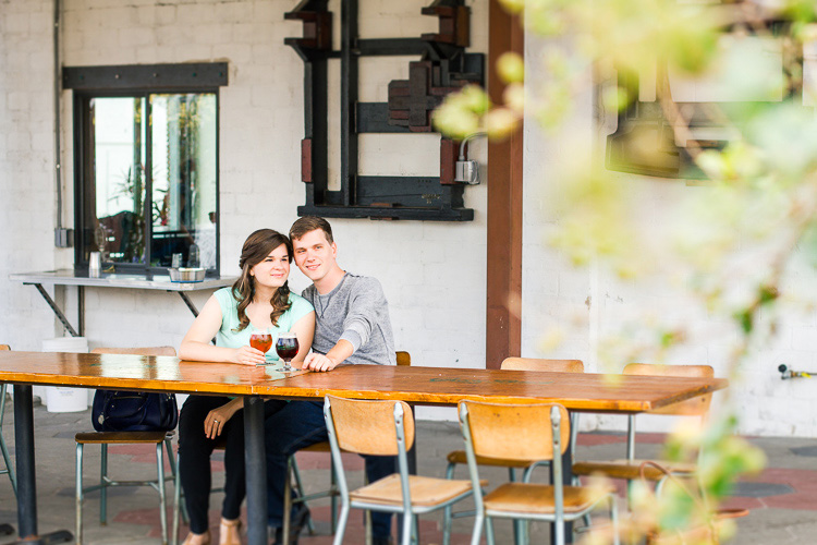 St. Pete_Green Bench Brewing Co_Engagement_Photo_Nina & Brian_35